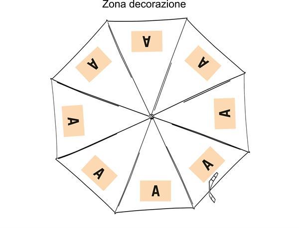 Ombrello CLASSIC con manico arrotondato