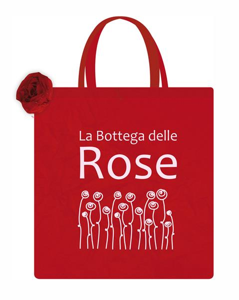 Borsa Shopping Rosa in nylon