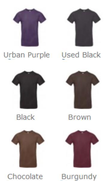 T-shirt uomo B&C #E190