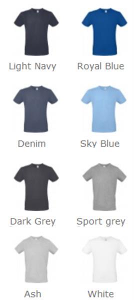 T-shirt uomo B&C #E150