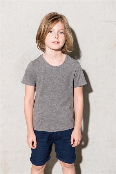 T-shirt bambino cotone bio Kariban girocollo