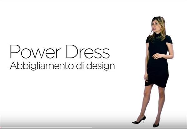 Guarda il video della linea di abbigliamento Power Dress corporate