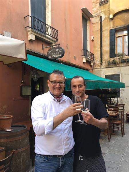 Com'è la #VitaVissutaConCavalier? Incontro con chef Domenico.Iacuzio.